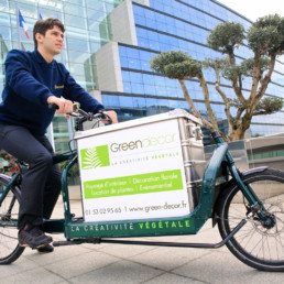 Engagement pour le développement durable. entretien de plantes à Paris par Green Decor