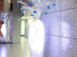 Décorations de Noël innovantes pour entreprise à Paris
