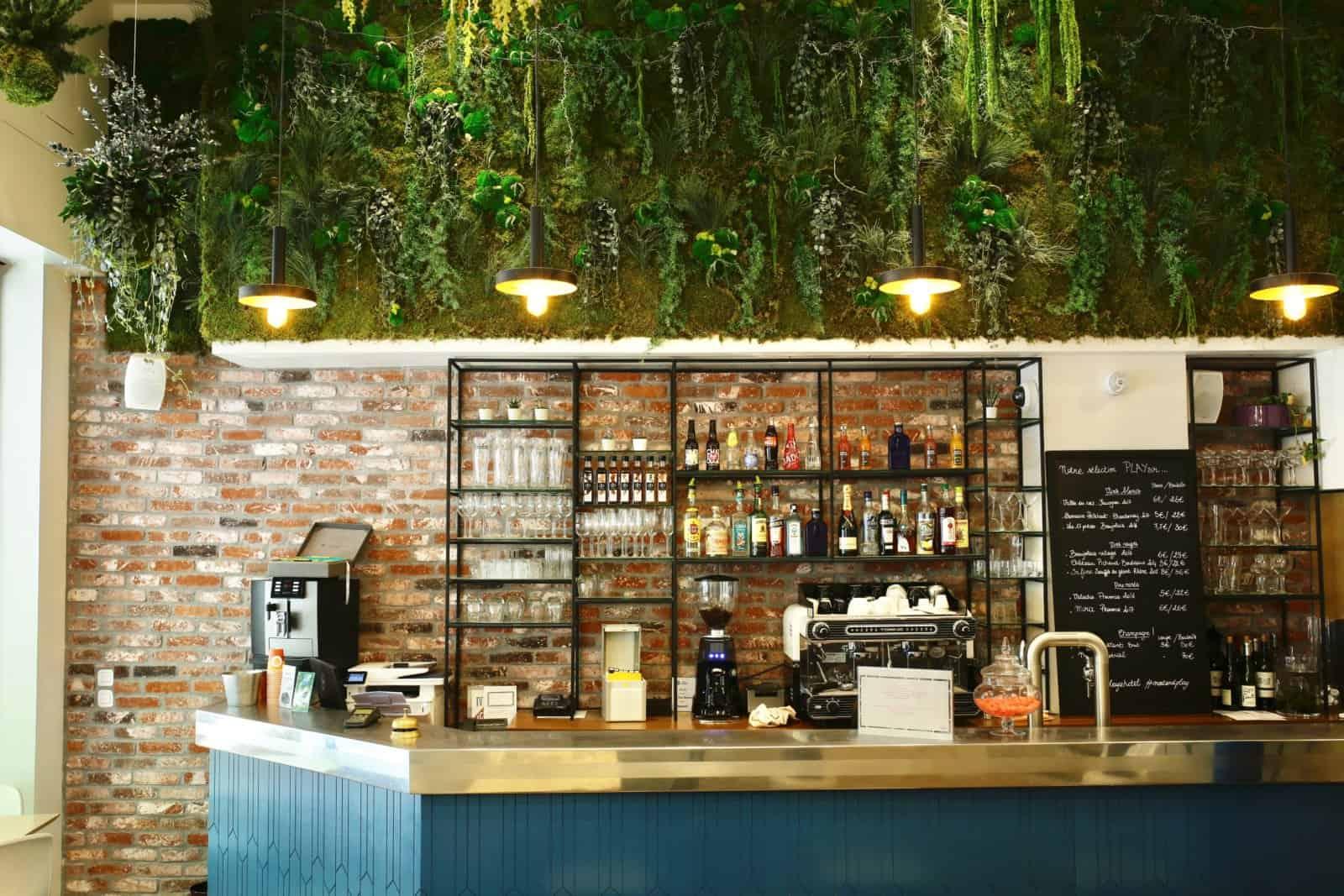 Mur végétal artificiel ou naturel par Green Decor Paris