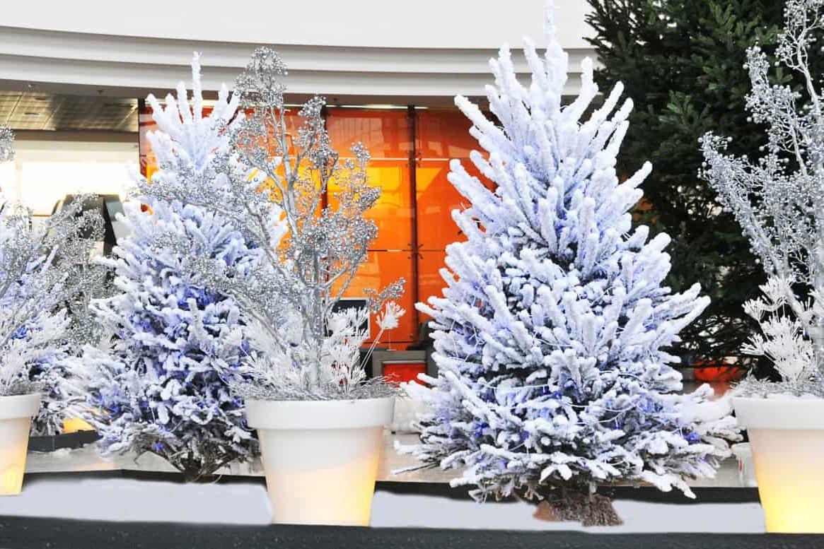 Décorations de Noël pour entreprises par Green Design