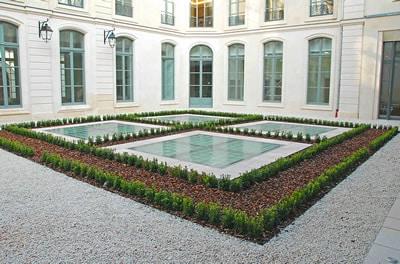 Aménagement de cours et patios pour les entreprises - Green Decor